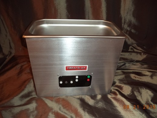 The Newest Vibrato Ultrasonic Cleaner