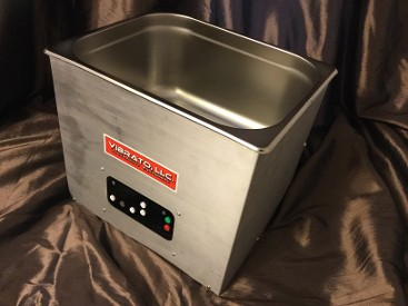 10 Quart Vibrato Ultrasonic Cleaner with Drain